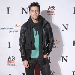 Rubén Sanz en el estreno de 'Fin' en Madrid