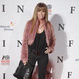 Lara Dibildos en el estreno de 'Fin' en Madrid