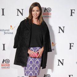 Dafne Fernández en el estreno de 'Fin' en Madrid