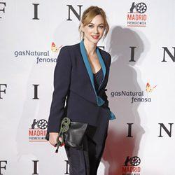 Marta Hazas en el estreno de 'Fin' en Madrid