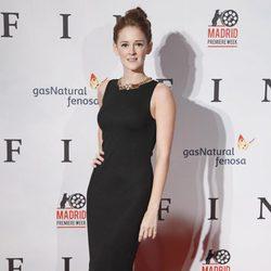 Ana María Polvorosa en el estreno de 'Fin' en Madrid