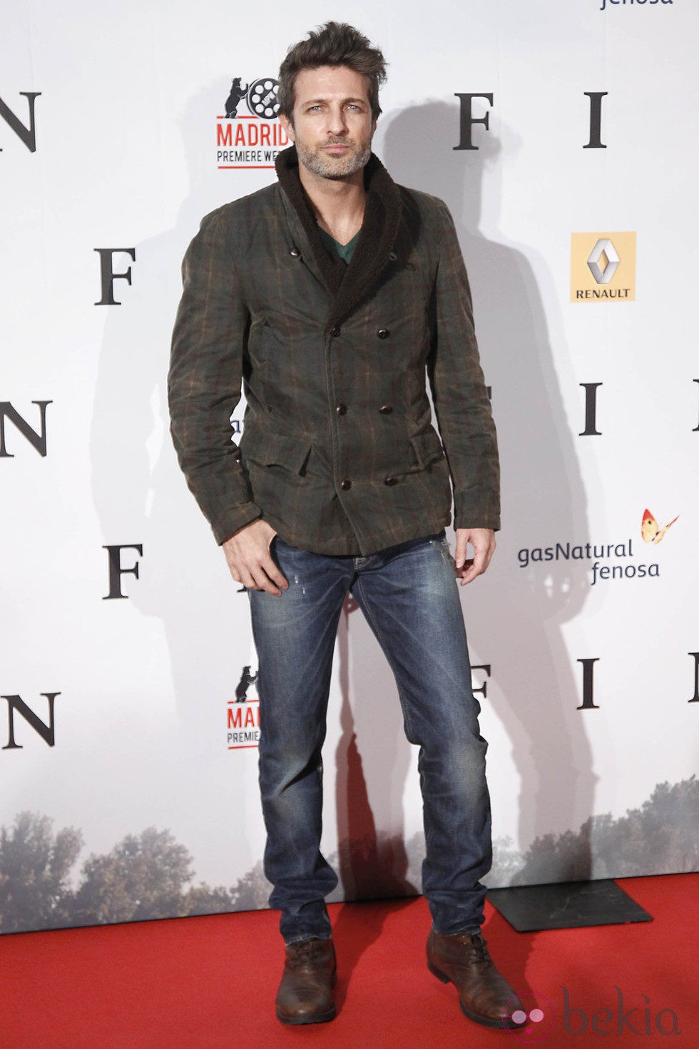 Jesús Olmedo en el estreno de 'Fin' en Madrid