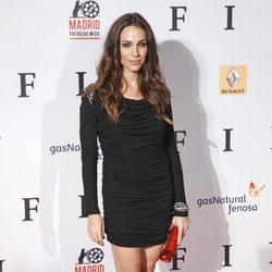 Nerea Garmendia en el estreno de 'Fin' en Madrid