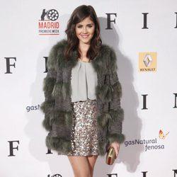 Lucía Ramos en el estreno de 'Fin' en Madrid