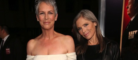 Jamie Lee Curtis y Kelly Lee Curtis en el estreno de 'Hitchcock' en Los Angeles