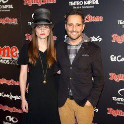 Leonor Watling y Jorge Drexler en los Premios Rolling Stone 2012