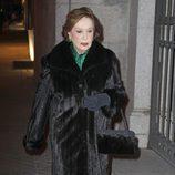 Carmen Franco en el funeral de Federico Trenor