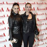 Natalia Verbeke y María Esteve en la presentación de Celia Flores 'En una calle blanca'