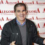 Pedro Ruiz en la presentación de Celia Flores 'En una calle blanca'