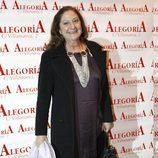 Rosario Pardo en la presentación del disco de Celia Flores 'En una calle blanca'