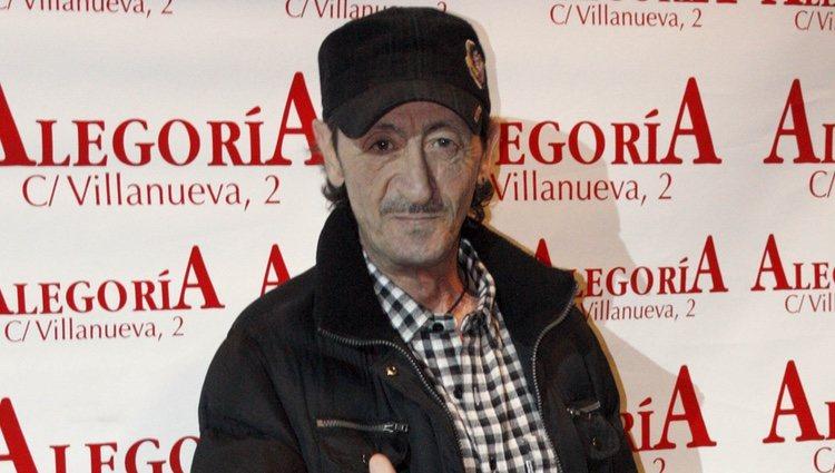 Eduardo Gómez en la presentación del disco de Celia Flores 'En una calle blanca'