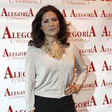 Encarna Salazar en la presentación del disco de Celia Flores 'En una calle blanca'