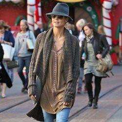 Heidi Klum prepara el Día de Acción de Gracias en Los Ángeles