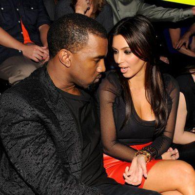 Kim Kardashian y Kayne West juntos en las actuaciones de 'The X Factor'