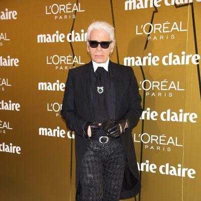 Karl Lagerfeld en los Premios Prix de la Moda de Marie Claire 2012