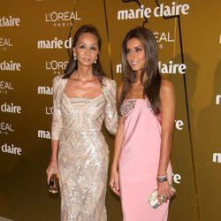 Ana Boyer e Isabel Preysler en los Premios Prix de la Moda de Marie Claire 2012