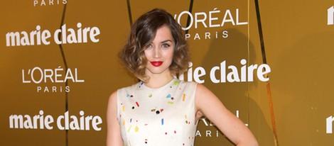 Ana de Armas en los Premios Prix de la Moda de Marie Claire 2012