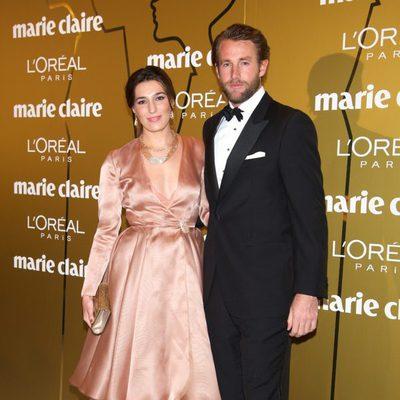 Eugenia Ortiz y Juan Melgarejo en los Premios Prix de la Moda de Marie Claire 2012