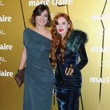 Sandra Barneda y Nacha Guevara en los Premios Prix de la Moda de Marie Claire 2012