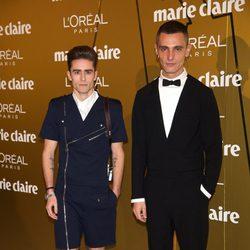 David Delfín y Pelayo Díaz en los Premios Prix de la Moda de Marie Claire 2012