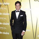 Luis Medina en los Premios Prix de la Moda de Marie Claire 2012
