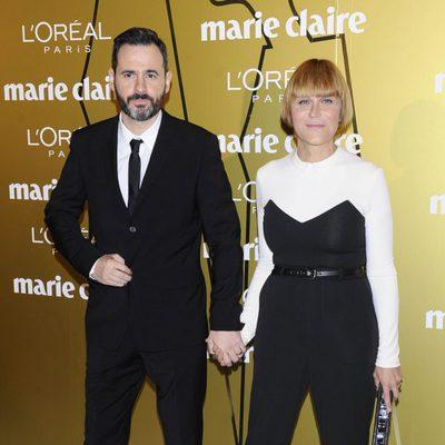 Luis Miguel Segui y Antonia San Juan en los Premios Prix de la Moda de Marie Claire 2012