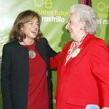 La Infanta Pilar y Ana Botella, muy cómplices en la inauguración del Rastrillo 2012