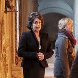 Carmen Maura durante el rodaje de 'Las brujas de Zugarramurdi'
