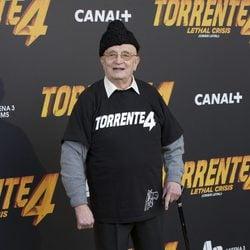 Tony Leblanc en la première de 'Torrente 4'