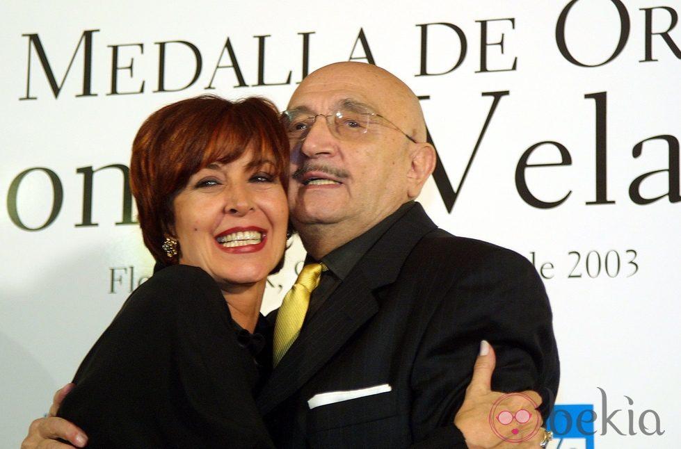 Concha Velasco y Tony Leblanc