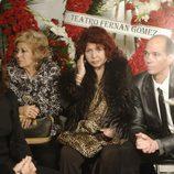 Sara Montiel en el funeral de Tony Leblanc