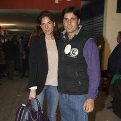 Fran Rivera y Lourdes Montes en el Rastrillo Nuevo Futuro 2012
