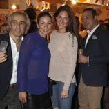 Virginia Troconis y Lourdes Montes en el Rastrillo Nuevo Futuro 2012