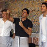 'El Cordobés', Fran Rivera y Julián Contreras Jr. en el Rastrillo Nuevo Futuro 2012