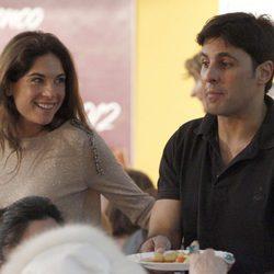 Lourdes Montes y Fran Rivera en el Rastrillo Nuevo Futuro 2012