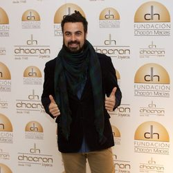 Huecco en la presentación del catálogo benéfico de Chocrón 2013