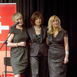 Inés Ballester, Concha García Campoy y Nieves Herrero en los Premios Talento 2012