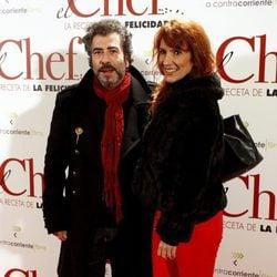 Agustín Jiménez en el estreno de 'El Chef, la receta de la felicidad'