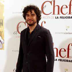 José Manuel Seda en el estreno de 'El Chef, la receta de la felicidad'
