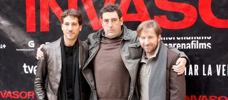 Daniel Calparsoro, Antonio de la Torre y Alberto Ammann presentan 'Invasor' en Madrid