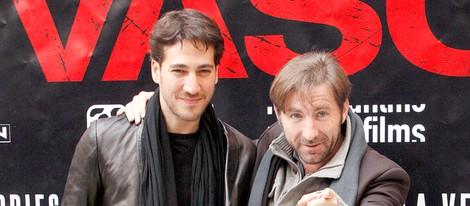 Antonio de la Torre y Alberto Ammann presentan en Madrid la película 'Invasor'