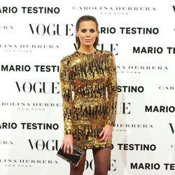 Claudia Ortiz en la presentación del número de diciembre 2012 de Vogue España