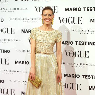 Raquel Sánchez Silva en la presentación del número de diciembre 2012 de Vogue España