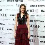 Laetitia Casta en la presentación del número de diciembre 2012 de Vogue España