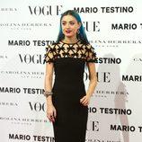 Miranda Makaroff en la presentación del número de diciembre 2012 de Vogue España