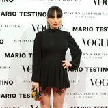 María Escoté en la presentación del número de diciembre 2012 de Vogue España