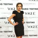 María León en la presentación del número de diciembre 2012 de Vogue España