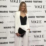 La modelo María León en la presentación del número de diciembre 2012 de Vogue España