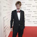 Eloy Azorín en la presentación del número de diciembre 2012 de Vogue España