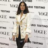 Carolina Adriana Herrera en la presentación del número de diciembre 2012 de Vogue España